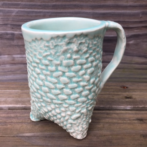 Opulence Icy Mint on Porcelain by Ameenah Brown