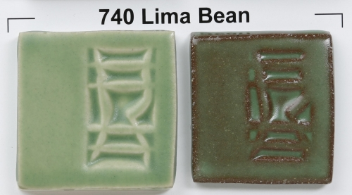 Left is on a light clay body, Right is on a dark clay body