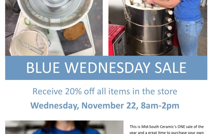 Blue Wednesday Sale