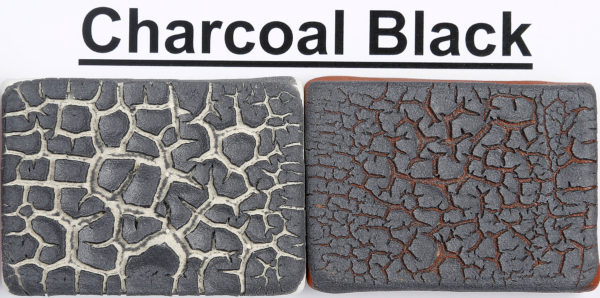The Clay Lady's Charcoal Black Textured Glaze