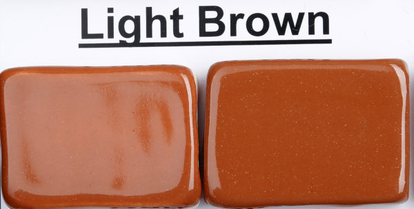 The Clay Lady's Light Brown Low-fire Glaze