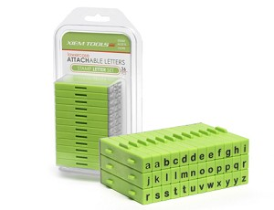 Xiem Letter Stamps- Lowercase