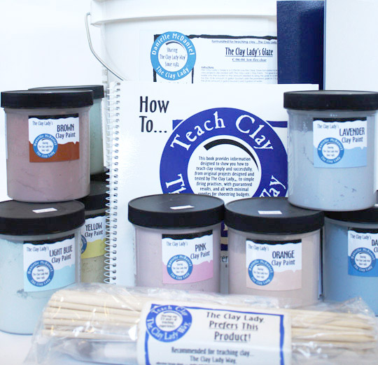 The Clay Lady's Large School Kit