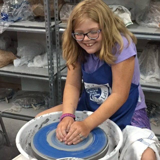 Kid S On The Potter S Wheel With The Clay Lady Sat May 30 2020